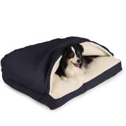 SnooZer Cozy Cave Hundehule Rectangle Version Navy Blue