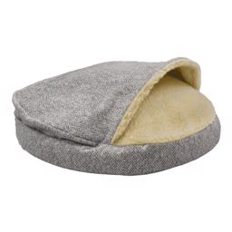 SnooZer Cozy Cave Palmer Dove Luxury Edition Show Dog