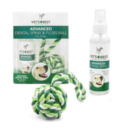 Vets Best Advanced Dental Spray And Floss Ball