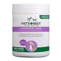 Vets Best Clean Eye And Ear Wipes 160stk Rens Øre & Øjne